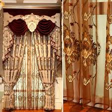 European Lace Curtains Custom Curtains On Sale Free Shipping