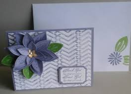 Flowers And Friends - flowers and friends card 1 stamp with andrea
