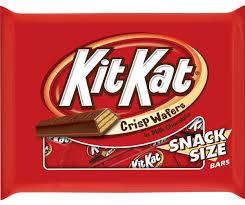 Halloween Chocolate Gifts Kit Kat Milk Chocolate Wafer Snack Size Candy Bars 10 7 Oz Bag