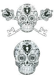 skull tattoo images free 199 best skulls images on pinterest sugar skulls tattoo ideas