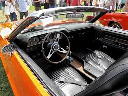 Dodge Challenger Interior - 1970 dodge challenger r t 440 six pack convertible at the