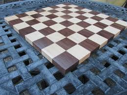 birthday gift for men solid wood handcrafted chess board made of