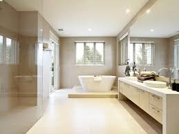 Bathroom Design With Bifold Windows Using Frameless Glass - Glass bathroom designs