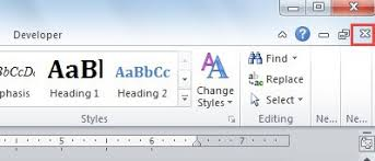 close window 4 quick ways to close a single word document without closing word