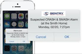 how crash and smash technology can help during a burglary sentry