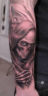 35 cool cryptic grim reaper tattoos grim reaper reaper