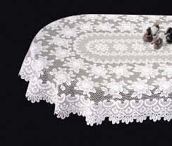 lace table cloths interior home design oval tablecloth ideas