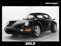 porsche 964 white sold vehicles