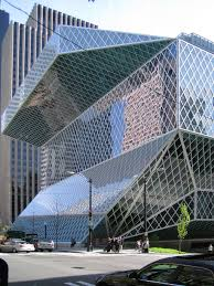 koolhaas rem seattle central library architecture sculpture