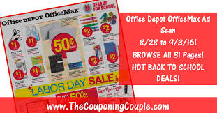 home depot spring black friday 2017 ad scan office depot officemax ad scan for 8 28 to 9 3 16 browse all 31