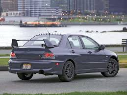 evo 8 spoiler mitsubishi lancer evolution viii mr 2005 pictures information