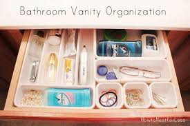 bathroom cabinet organization ideas bathroom vanity organization how to nest for less