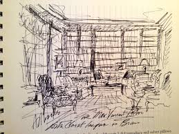 Interior Design Sketches by Albert Hadley Sketch Interior Design Sketches Renderings