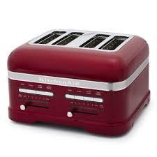 sur la table toaster kitchenaid pro line toaster 4 slice sur la table