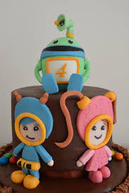 team umizoomi cake topper bot geo u0026 milli bday party