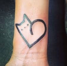 23 best cute heart tattoos images on pinterest small tattoos
