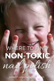 where to find non toxic nail polish small footprint family
