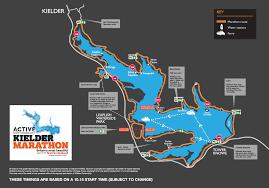 Route Map by Marathon Route Map Kielder Marathon