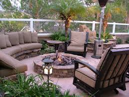 Patio Seating Ideas Lavish Outdoor Patio Seating Ideas With Curved Brown Sofa Bench