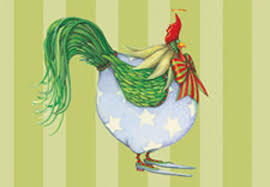 boxed cards patience brewster christmas rooster boxed cards