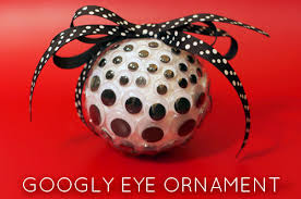 make a googly eye ornament dollar store crafts