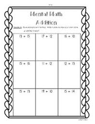 shamrock math story problems 2 digit addition and subtraction
