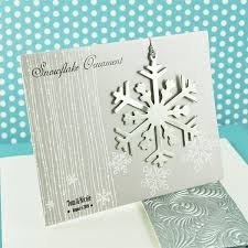 silver snowflake tree ornament favors