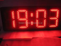 clock awesome led clock design led wall clock uk large digital