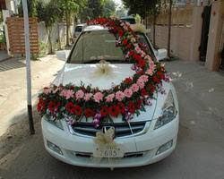 wedding car decorations wedding car decoration in mumbai
