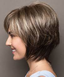 hairstyles for plus size women with thick curly hair plus size cute short layered haircuts 2017 2018 for women