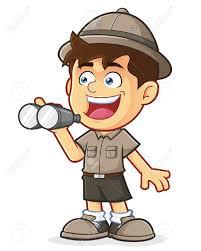 safari truck clipart binoculars clipart