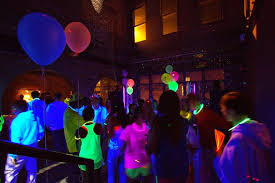 blacklight party ideas s day party ideas for college students