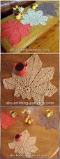 Leaf Table Runner Crochet Table Runner Free Patterns U0026 Tutorials