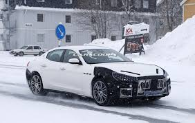 maserati sedan 2018 facelifted 2018 maserati ghibli is on its way