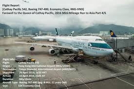 Boeing 747 Floor Plan by Cx 744 Hkg Hnd Farewell To The Queen Of Cathay Pacific Mini