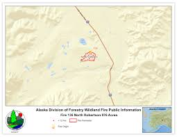 Wildfire Alaska 2015 Map by More Than 200 Firefighters Working To Contain Wildfire Along