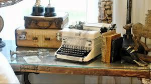 retro interior decorating ideas vintage typewriters youtube