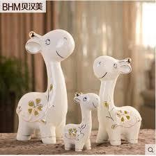 deer home decor ceramic family deer home decor crafts room decoration ceramic