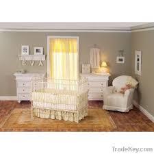 bratt decor casablanca crib in antique white by smile baby