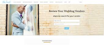 wedding websites search it s now easier than to leave reviews on theknot