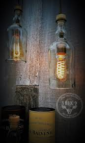 drink photography lighting balvenie whiskey bottle pendant lighting whiskey bottle