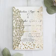 polka dot wedding invitations luxury gold glittery cupid s arrow polka dots laser cut wedding