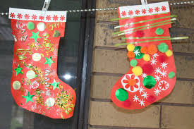 kids love craft christmas craft ideas santa stockings chrismas