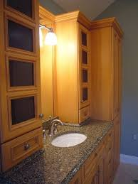 bathroom vanity storage ideas bathroom cabinets narrow storage cabinet and oak vanity solutions