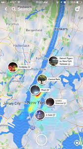 New York On The Map by Everything You Need To Know About Snapchat U0027s New Snap Map