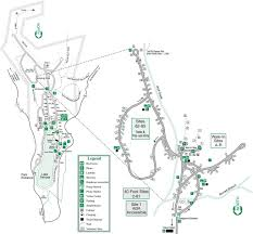 State Park Map by Vogel State Park Maplets