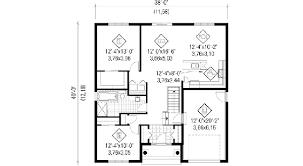 plan de maison avec cuisine ouverte plan de maison simple great house plan maison jumele