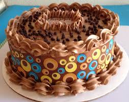 chocolate buttercream birthday cake ideas image inspiration of