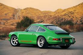 porsche singer the whole car 1991 porsche 911 by singer vehicle design