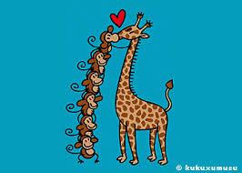 imagenes de amistad jirafas portafolios cuentacuentos